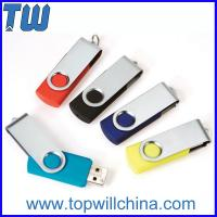Quality Promotion Swivel Capless Thumbdrive 32GB 64GB with Free Custom Printing for sale