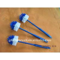 HQ2105 easy storage bathroom brush/toilet brush/toilet scrubber W/ PP handle for sale