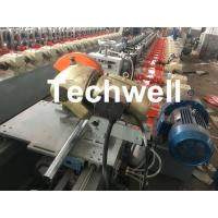 Quality Custom made Octagonal Aluminum Or Galvanized Steel Tubing Roll Forming Machine With PLC Frequency Control for sale