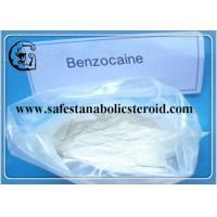 Quality Local Anaesthetics Benzocaine CAS 94-09-7 Pain Killer Powder Safe Delivery for sale