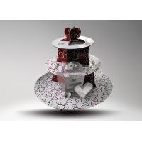 Buy 3 - ties 4C Printing Cardboard Cup Cake Stand for Birthday Party at wholesale prices