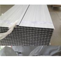Quality Alloy Solar Standard Aluminium Profiles , Aluminum Solar Panel Frame Wood Grain Painting for sale