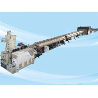 Quality Low Noise PE Pipe Machine / Pe Pipe Production Line Stable Extruding 132kw for sale