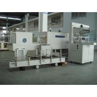 Quality Industrial Automatic PE Film Shrink Wrapper Packaging Equipment for vinegar and soy sauce for sale
