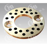 China solid machined bronze Thrust Washers with graphite on sale