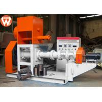 Quality 300KG/H Floating Fish Feed Extruder Machine Main 37kw Low Power Consumption for sale