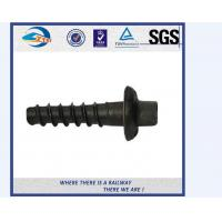 5.6 Grade Carbon Steel Q235 Railway Sleeper Screws Spike HRC22 - HRC32