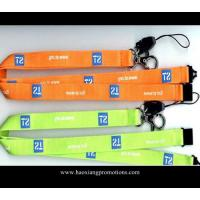 Quality New style single cheap custom lanyard / Logo Printed Lanyard with no minimum order for sale