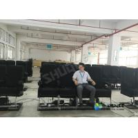 Quality 12 Seats Movie Theater 4D Movie Equipment Advantages In A Simulated Earthquakes for sale