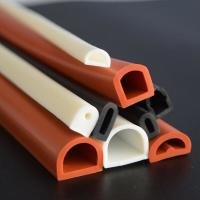 Buy Good elastic silicone rubber tube/flame retardant rubber pipe/masking rubber at wholesale prices