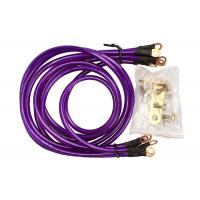 Quality Universal 5-Point Grounding Wire Kit Cable (Purple) for sale