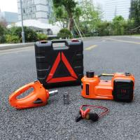 Buy hot sale portable emergency tool electric jack with impact wrench and air compressor at wholesale prices