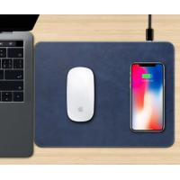 Quality 10w Wireless Charger Mouse Pad Integrated Flat Office Home Desktop Mobile Phone Wireless Charging for sale