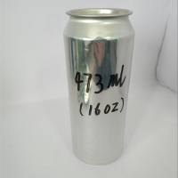 Quality 16OZ Empty Customized 473ml 500ml Aluminum Beer Cans for sale