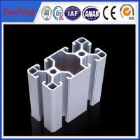 Quality high precision 40*80 Industrial Aluminum Extrusion Profiles for sale