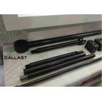China Telescopic Hydraulic Cylinder Chrome Plated Rod Steel Bar 42CrMo4 NSS 300 Hours Hollow Piston on sale