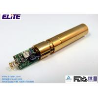 China EL52D50IG12 525nm 30mW Green Dot Laser Diode Module CW Mode with APC on sale