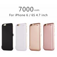 Quality Slim Back Clip 7000 MAh Cell Phone Battery Case For IPhone 6 / IPhone 6s for sale