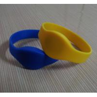 China Silicone RFID Wristband From Factory on sale