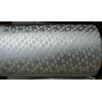 Quality Alloy Steel Embossing Roller For Paper , Tissue , Foil And Leather With Different Pattern for sale