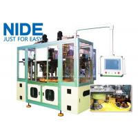 Quality Full automatic three station stator coil winding and inserting machine for 3 phase motor for sale
