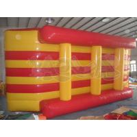 Quality Inflatable Floating Yellow/Red Island for sale