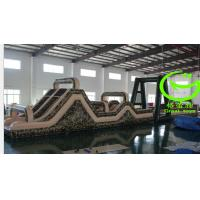 Quality Hot selling  camp inflatable obstacle course  with 24months warranty GT-OBS-0568 for sale