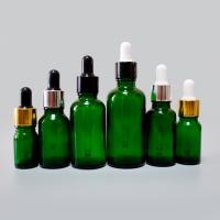 Quality China manufacture Amber Clear Color Boston Round Glass Bottle Essential Oil Bottles for sale