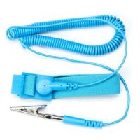 Buy Cleanroom ESD Constant contact hinge design Anti Static Wrist Strap at wholesale prices