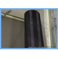 Black Coated Stainless Steel Insect Screen
