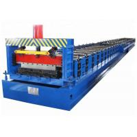 Buy cheap Building Sheet Metal Floor Decking Roll Forming Machine 2 Years Warranty from wholesalers