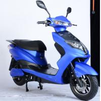 Quality Anti Skid Tire Battery Powered Motor Scooter Disc / Drum Brakes Aluminium Rim for sale