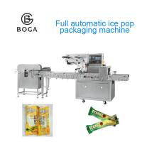 China 304 SS Ice Pop Sealing Machine 220V Full Automatic Small Flow Wrapping on sale