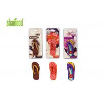 Quality Christmas Slipper Deco Hanging Car Air Fresheners / Good Air Freshener For Room for sale
