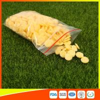 Buy Ldpe Plastic Reusable Ziplock Bags 8x12 cm With Colorful Line at wholesale prices