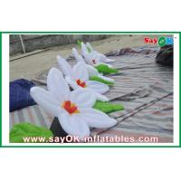 Quality Flower Inflatable Lighting Decoration / inflatable Led Decoration for sale