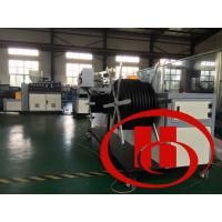 Steel Wire Inner Corrugated Pipe Machine Single Layer With 22kw Power