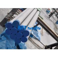 Quality ASTM A790 / ASME SA790 Duplex Steel Pipe For Heat Coils , 6000mm Stainless Seamless Pipe for sale