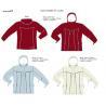 Customized Outdoor winter long sleeve fleece jacket for sale
