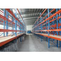 Hengtuo Storage Heavy Duty Pallet Racks Using Wire Mesh Decking