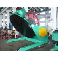 Buy cheap Stands Pipe Weight 5 Tons Welding Positioner Turning Table Use Schneider VFD Control Revolving Speed from wholesalers