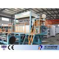 Quality OEM / ODM Apple Tray Making Machine 4000pcs / h Automatic Egg Tray Machine Easy Operation for sale