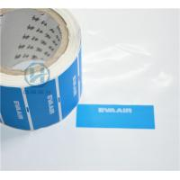 Quality Tamper Proof Warranty Void Labels Non - Residue With Custom Die Cut for sale