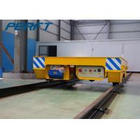 China Battery Powered Electric Flat Transfer Car on Rail with Remote and Hand on sale