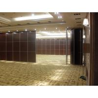 Buy cheap Sliding Room Dividers For Banquet Hall with Acoustic Leather Soft Cover Surface from wholesalers