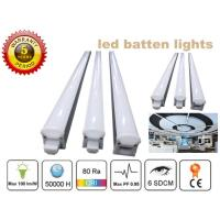 China 1.2m Led Batten Lighting Fixture 3030 , Batten Fitting Light 5 Years Warranty on sale