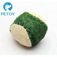 Quality Eco Friendly Small  Indestructible Rope Dog Toys Nature Loofah Material for sale