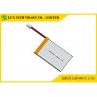 China 3.7V Lithium Ion Polymer Battery Pack / Lithium Polymer Cell No Leakage No Fire on sale