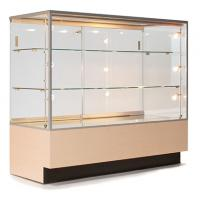 Quality Custom Portable Jewelry Showcases , Jewelry Store Display Cases For Necklace for sale