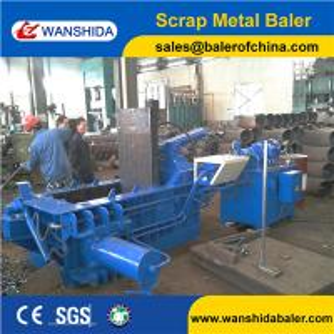 China Scrap Aluminum Balers on sale